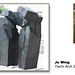 Ju Ming 'Taichi Arch' 2000  - The Ashmolean Museum - Oxford - 24.6.2014