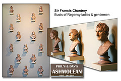 Sir Francis Chantrey's busts - The Ashmolean Museum - Oxford - 24.6.2014