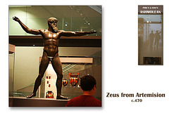 Zeus from Artemision - The Ashmolean Museum - Oxford - 24.6.2014