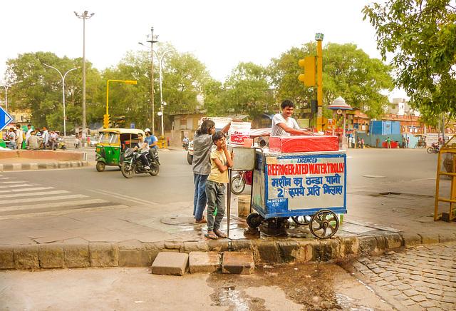 Water Merchant at Chandni Chowk