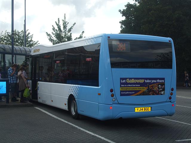 DSCF5590 Galloway Coach Travel YJ14 BGE