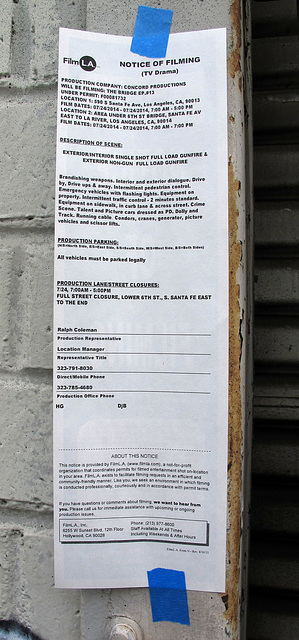 Los Angeles Film Notice (0318)