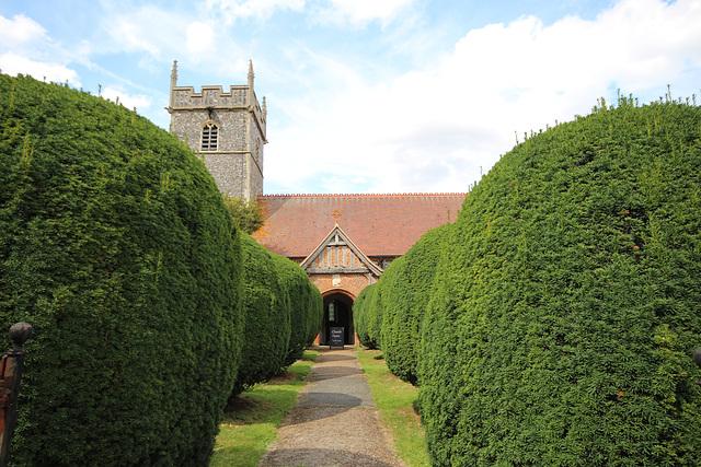 Woolverstone Church, Suffolk