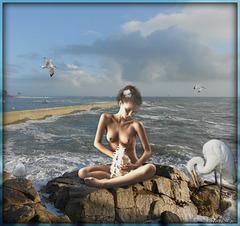 La dame au coquillage
