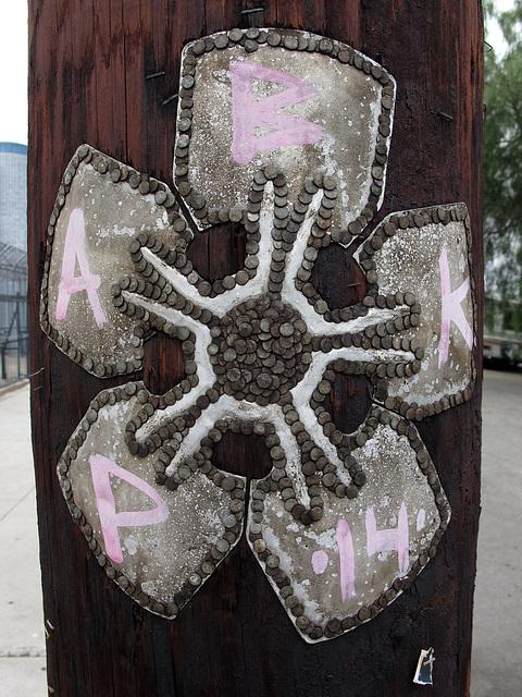 Utility Pole Art (0316)