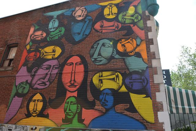 street art, Montréal