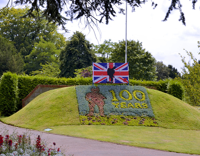 Guildford commemorates WW1 100th anniversary