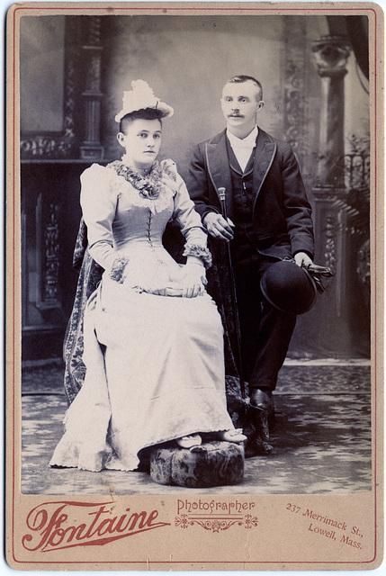 1890s Newlyweds