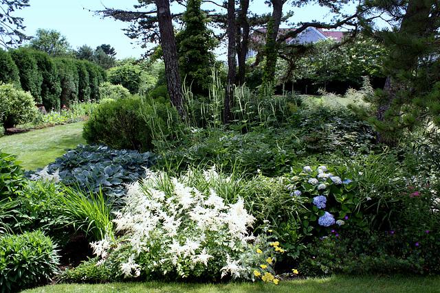 Peaceful garden, Granite Point