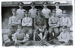 94th Battery, Royal Field Artillery, Tug of War Team 1917