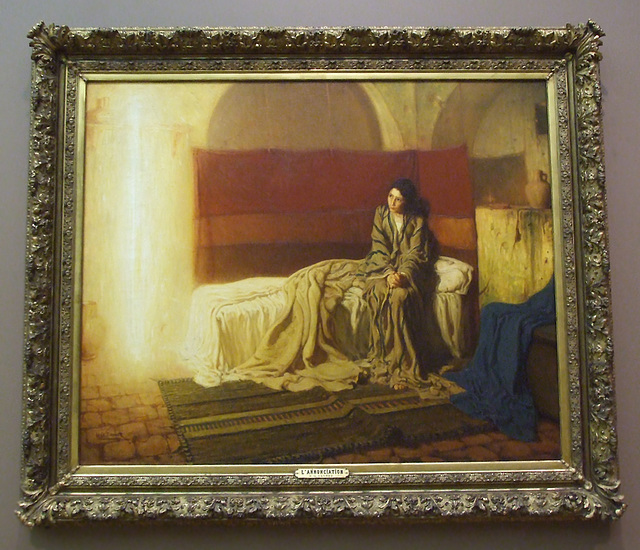 The Annunciation by Henry Ossawa Tanner in the Philadelphia Museum of Art, August 2009