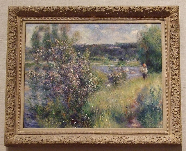The Seine at Chatou by Renoir in the Boston Museum of Fine Arts, July 2011