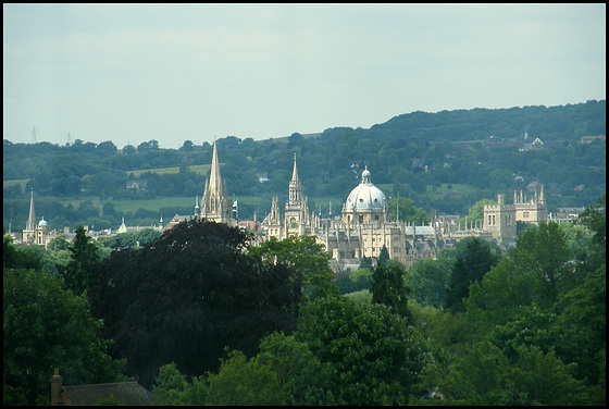 dreaming spires from Oxford JR