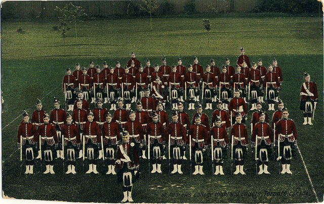 St. Andrew's College Highland Cadets, Toronto, Canada.