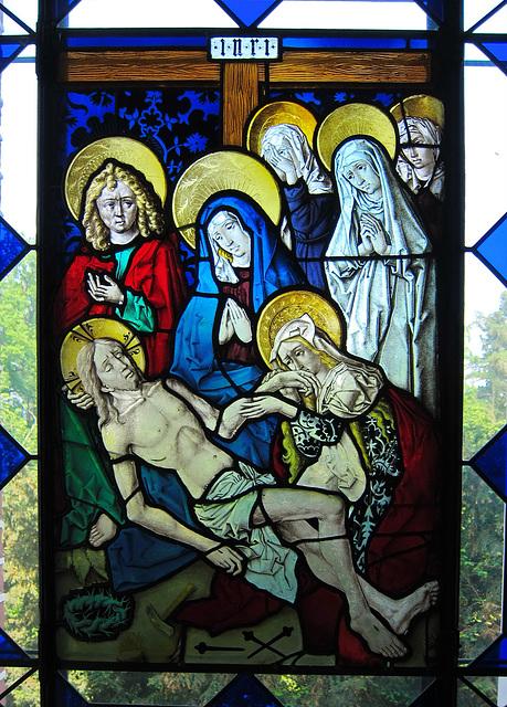 Beweinung Christi  - Straßburg um 1480/90