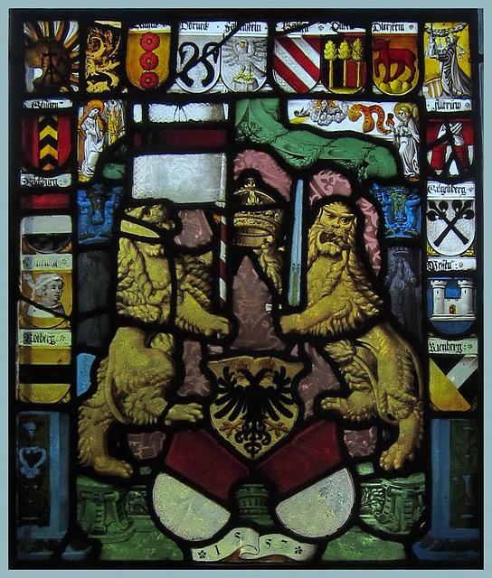 1557:Ämterscheibe des Standes Solothurn