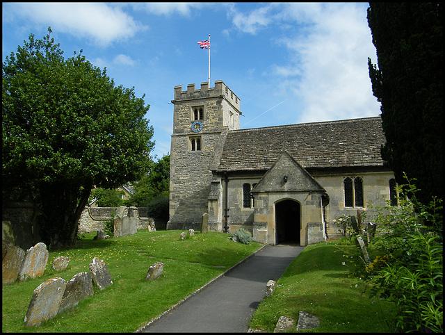 St Nicholas Church, Marston