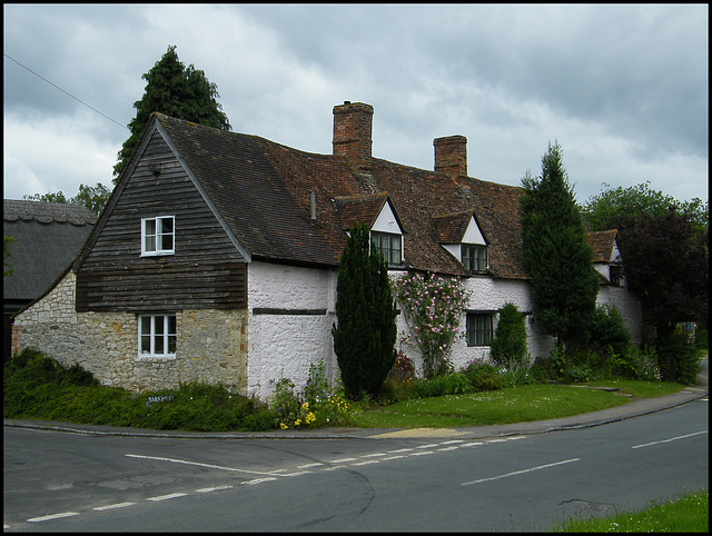 old house in Old Marston