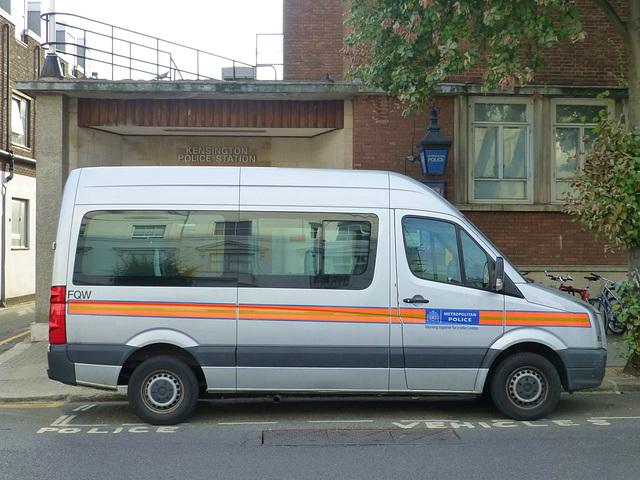 Met Police VW Transporter - 1 August 2014