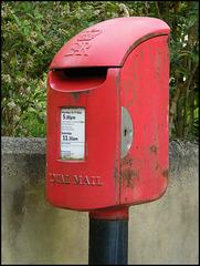 Old Marston new post box