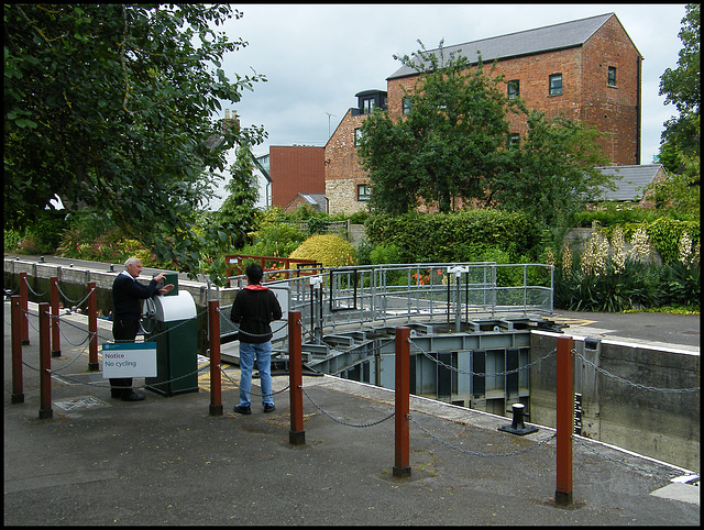 Osney Lock 2014