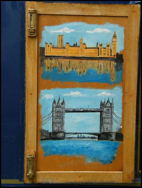 painted London scenes