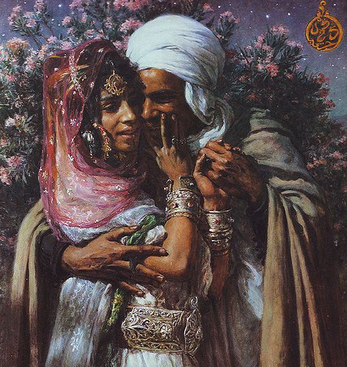Abdel Ghourem et Nour el Aïn, par Etienne Dinet