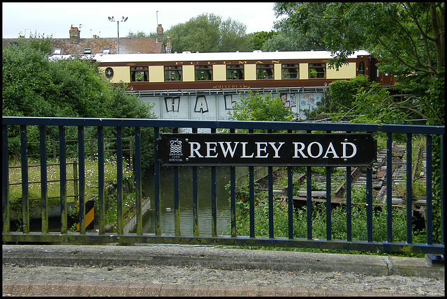 Rewley Road street sign