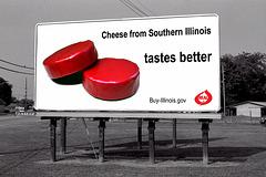 Cheesy Billboard Adverts