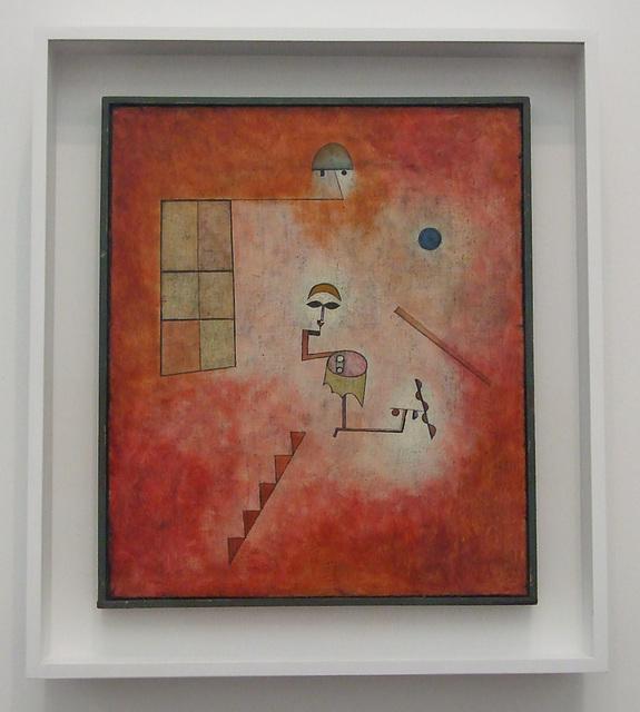 Prestidigitator by Klee in the Philadelphia Museum of Art, August 2009
