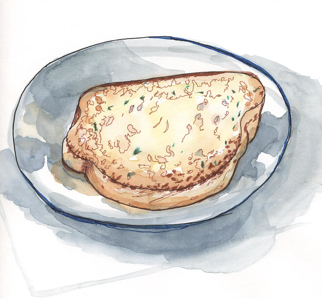 Sketchbook Skool  Toast-- Danny  No.1