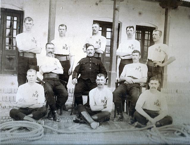 Tug of War Team India c1890