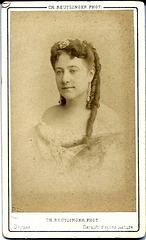 Madeleine Brohan by Reutlinger