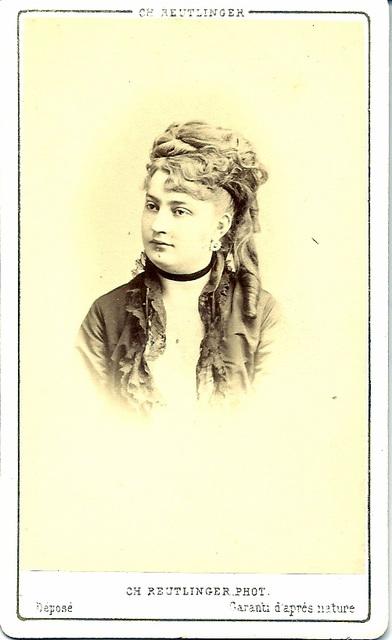 Leontine Maesen by Reutlinger