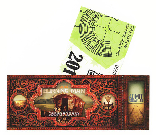 Burning Man 2014 ticket