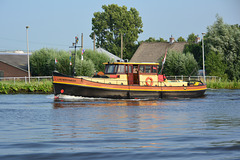The Lauwersmeer on the Zijl