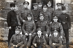 71st Battalion Royal Field Artillery including troopers in dress uniform
