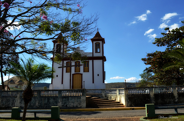 Church of São Francisco in Pitangui - Brazil -  Built of century XVIII