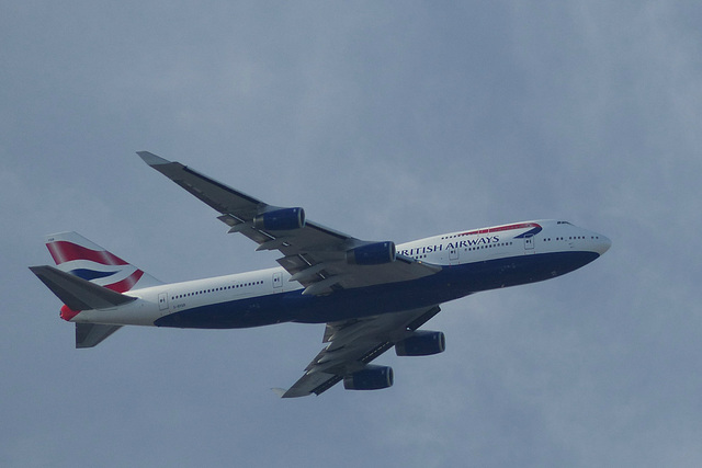 G-BYGB approaching Heathrow - 3 August 2014