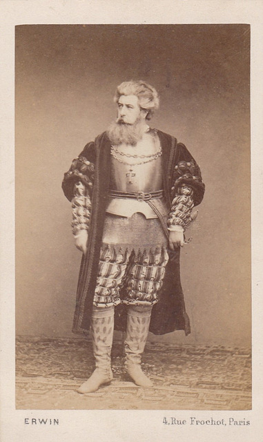 "Première-cast ""L'Africaine"" (5); Armand Castelmary as Don Diego by Erwin Hanfstaengl"
