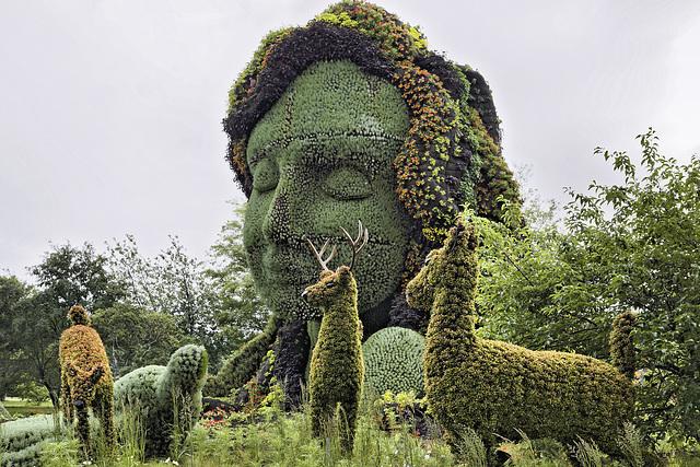 Mother Earth #5 – Mosaïcultures Internationales de Montréal, Botanical Garden, Montréal, Québec