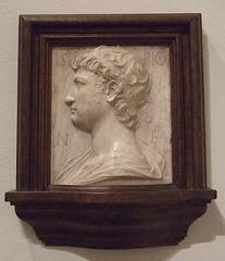 Portrait of the Ancient Roman General Scipio by Mino da Fiesole in the Philadelphia Museum of Art, January 2012