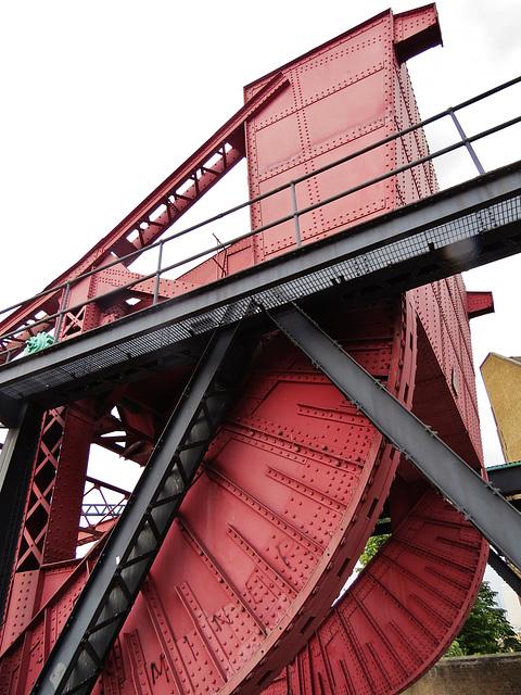 bridge, shadwell basin, london