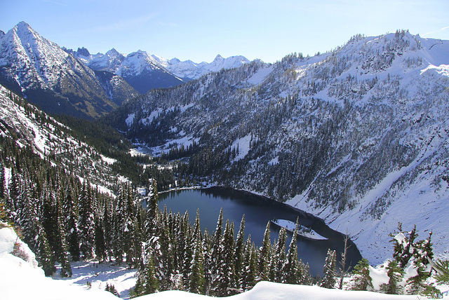 Lake Ann from Heather Pass