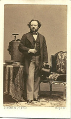 Gustave Hippolyte Roger by Disderi