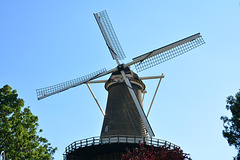 "Windmill ""De Valk"" in mourning"