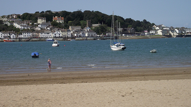 Lovely sunny day at Instow