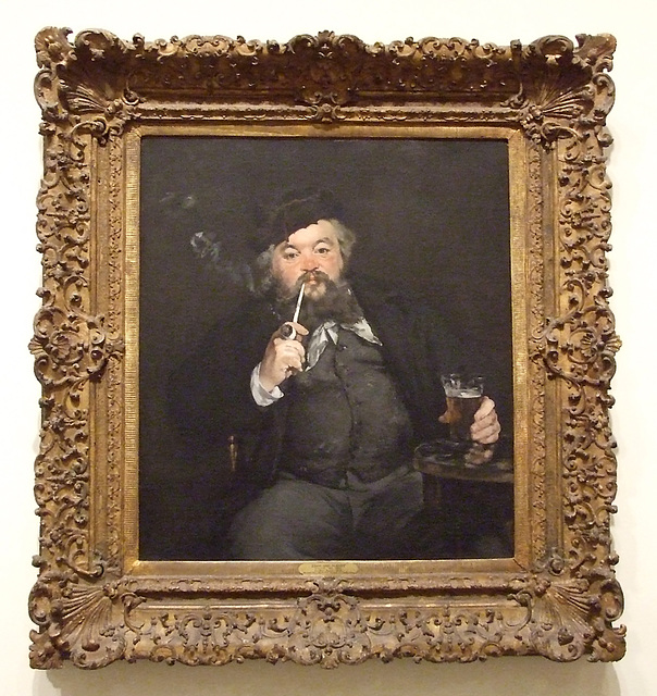 Le Bon Bock by Manet in the Philadelphia Museum of Art, August 2009