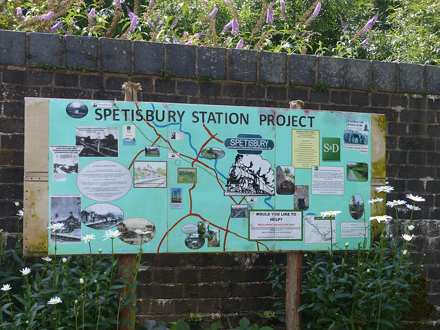Spetisbury [S&DJR] (1) - 23 July 2014