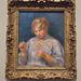 Girl Tatting by Renoir in the Philadelphia Museum of Art, January 2012
